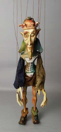 marionette by Antonin Muller and Michaela Bartonova