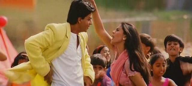 Kajol and SRK in Kuch Kuch Hota Hai
