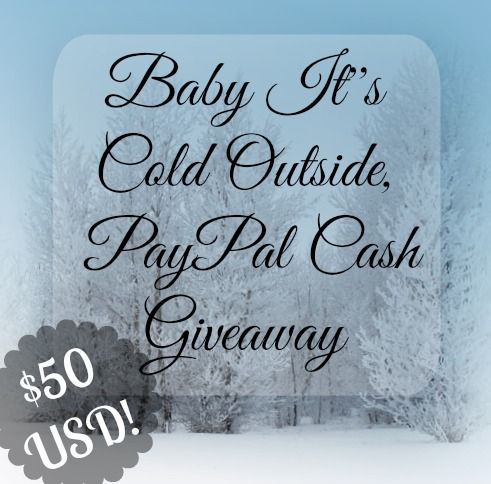 Come enter to WIN $50 USD to your PayPal account. This giveaway is brought to you by 5 Canadian bloggers. Good luck!
