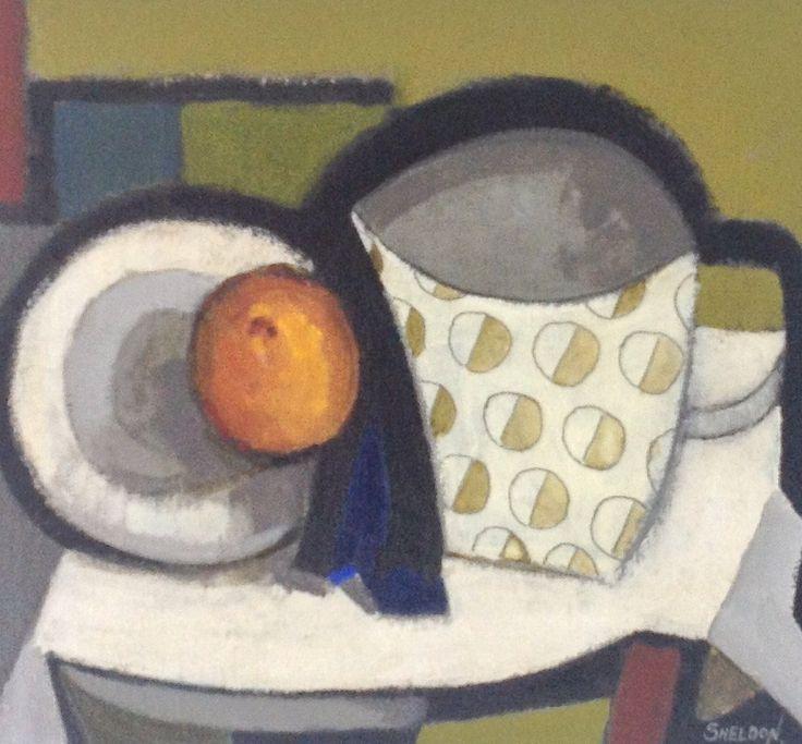 """""""explores the dynamics of still life"""" - Ray Sheldon"""