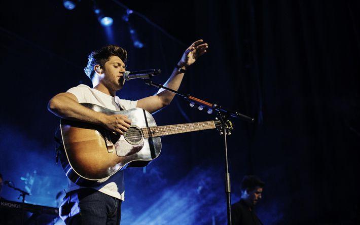 Hämta bilder Niall Horan, 4k, Irländsk sångare, konsert, musiker