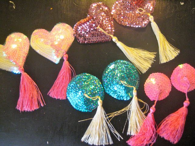 DIY: Nipple Tassels In case you are tired of paying full price?