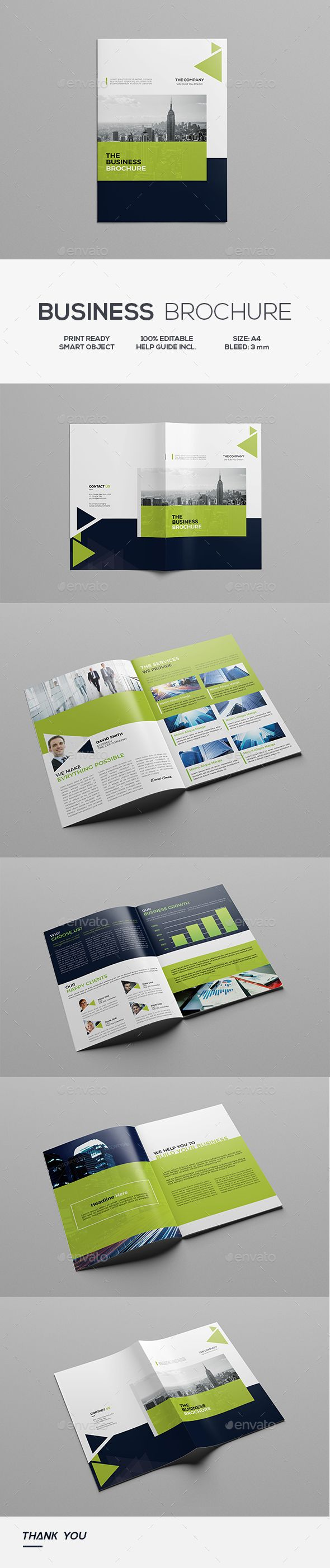 Business Brochure — Photoshop PSD #promotion #elegant • Download ➝ https://graphicriver.net/item/business-brochure/19273165?ref=pxcr
