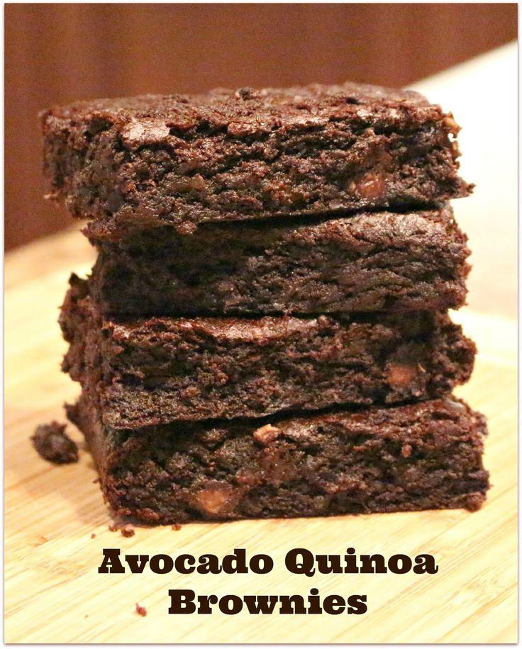 Jenn's Random Scraps: Avocado Quinoa Brownies #TriplePFeature