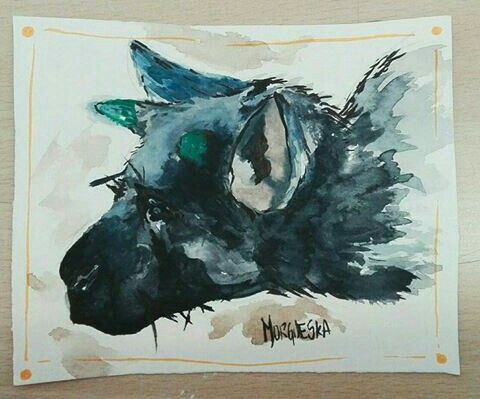 Trico From The Last Guardian Game Painting Video Gaming