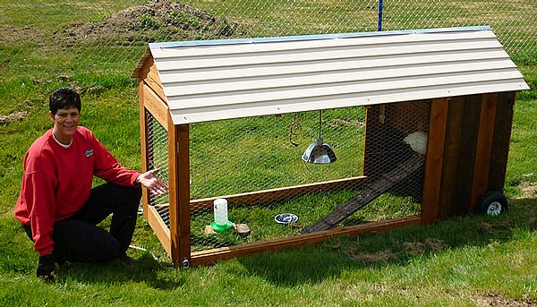 how to build a tractor enclosure