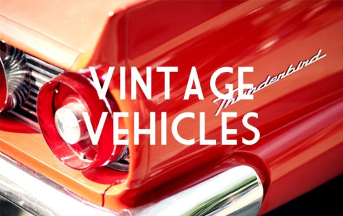 THE CLASSIC CAR PAGEANT: The coolest classic vehicles- from the 1940s through to the present day.