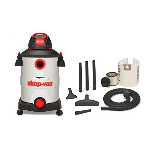 Shop Vac 5926211 12 Gallon 6 Peak Hp Stainless Steel Wet Dry Vacuum Shop Vac Shop Vacuum Wet Dry Vacuum