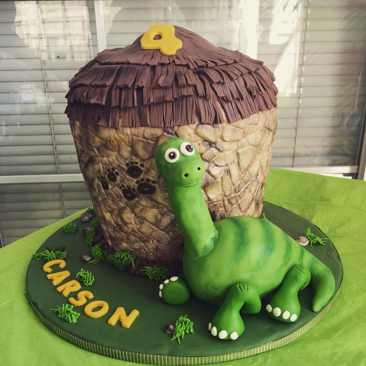 13 Best Dinosaur Cakes And Cupcakes Images On Pinterest