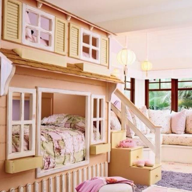 Menudas literas dise o pinterest litera habitacion for Dormitorio ninos diseno