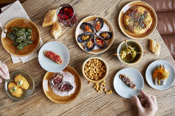 Our Pintxos are a modern spin on the classic Spanish snacks. They're designed  to be enjoyed individually, or to share as a starter