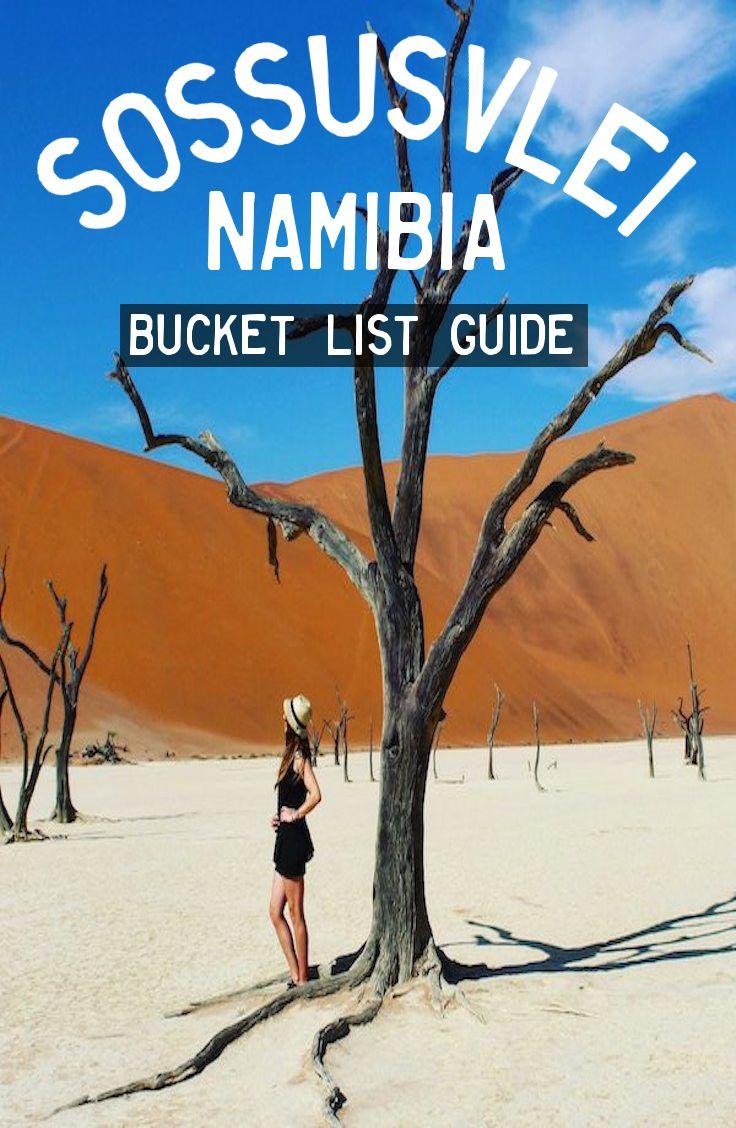 Sossusvlei, Namibia. GUIDE