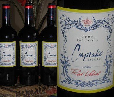 The BEST wine ever! Cupcake Vinyards, Red Velvet... Yum!