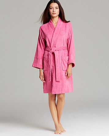 Ralph Lauren - Pink Lauren The Greenwich Terry Robe