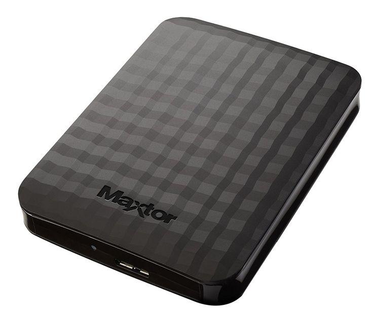 Disque dur Externe 1To USB 3.0 Noir Modèle MAXTOR STSHX-M101CBM