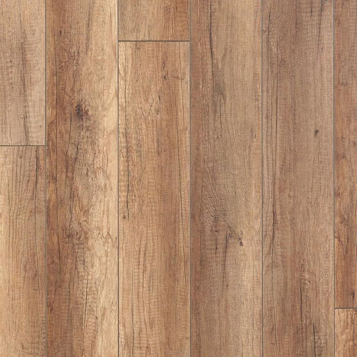 Pillar Oak Hand Scraped Laminate - 12mm - 100105345 | Floor and Decor