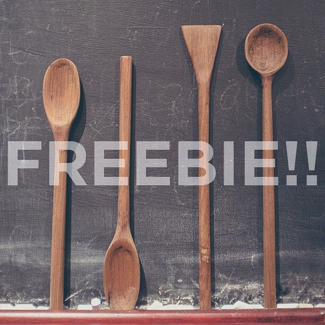We've been prototyping products and have oodles of wooden spoons in all shapes and sizes. FOR THIS WEEK ONLY all orders will score a FREE prototype spoon, handmade in the MEKKA workshop!!!