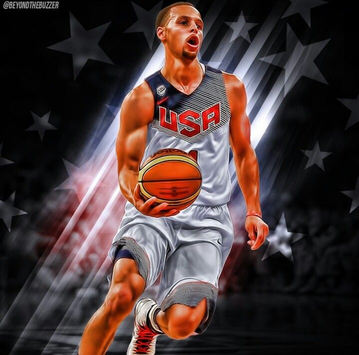 Stephen Curry Wallpaper: Stephen Curry Team USA