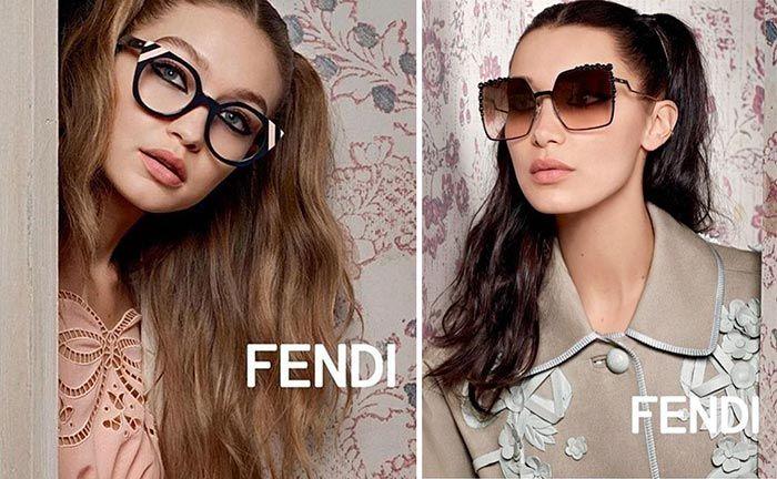 Bella Hadid for Fendi Spring/Summer 2017 Ad Campaign