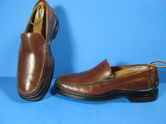 COLE HAAN BROWN LEATHER LOAFERS SIZE 9M 5042176 MADE IN INDIA #ColeHaan #LoafersSlipOns #Casual