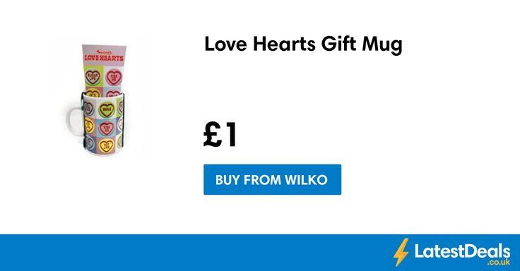Love Hearts Gift Mug, £1 at Wilko
