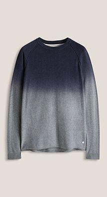 Esprit / Ombre jumper, 100% cotton