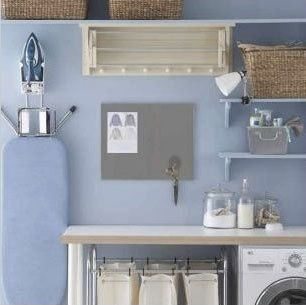 Organization Inspiration: Neat & Beautiful Laundry Rooms