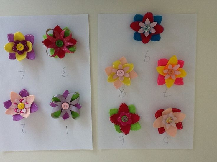 Large flower brooch/clips