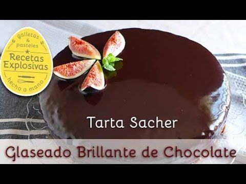 Como conseguir un glaseado brillante de chocolate / How to get a shiny chocolate glaze - YouTube