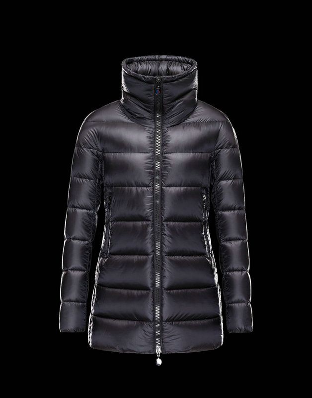 €311.90  Moncler Donne Pesante Giacca Elevee Nero