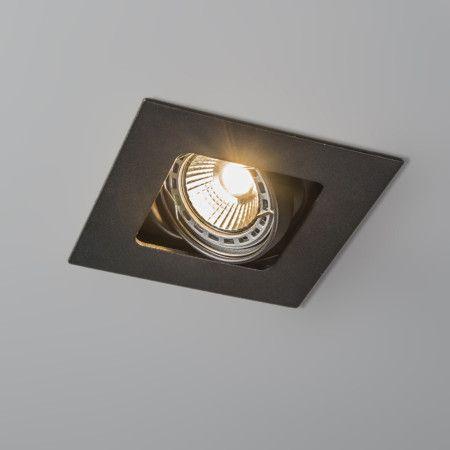 Inbouwspot Artemis Zwart   Lampenlicht.nl 10 X 10 Cm. Meer Opvallende  Plafondspot Keuze
