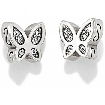 Starry Night Butterfly Mini Post Earrings available at #BrightonCollectibles