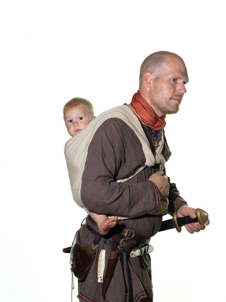 """hallokatzchen: """" dontsitaround: """" Danish men in authentic Viking costumes, by Jim Lyngvild """" Reblogging in case I ever draw Ivo as a Viking """" If this had been American men I'm not sure babies would..."""