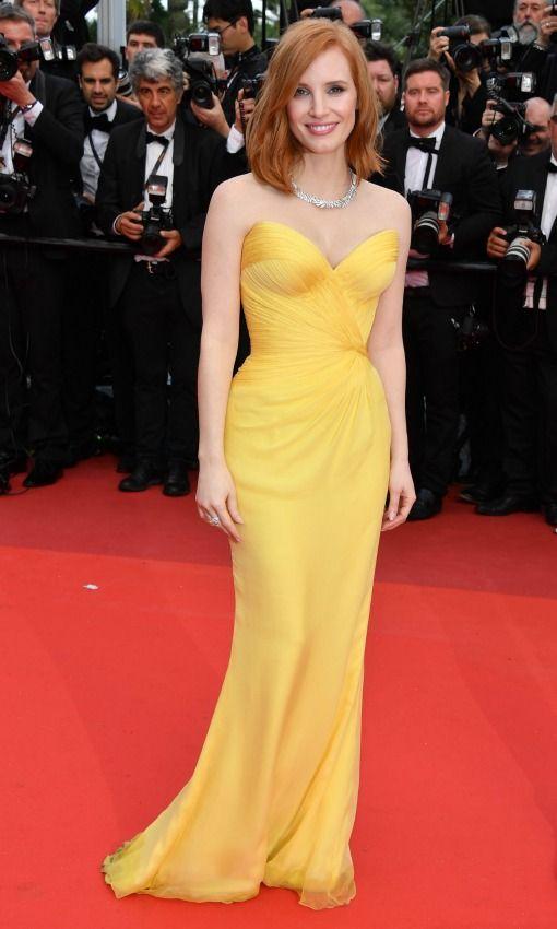 Jessica Chastain por Armani Privé - Cannes 2016 (ceremonia de apertura).