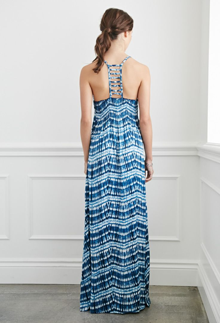 Tie-Dye Maxi Dress | Forever 21 - 2000077216