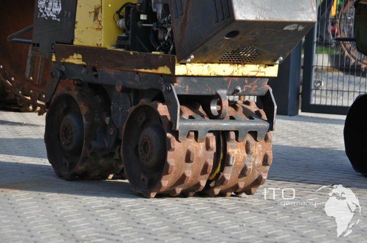 Compactador pata de cabra Bomag BMP851 de segunda mano. Más información en http://www.ito-germany.es/grabenwalze-bomag#photos    #Compactador #Pata_de_cabra #Bomag #BMP851 #Maquinaria_construccion #Constuccion_careteras #Estabilizador_suelos