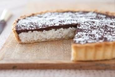 Découvrez cette recette de Tarte choco coco expliquée par nos chefs