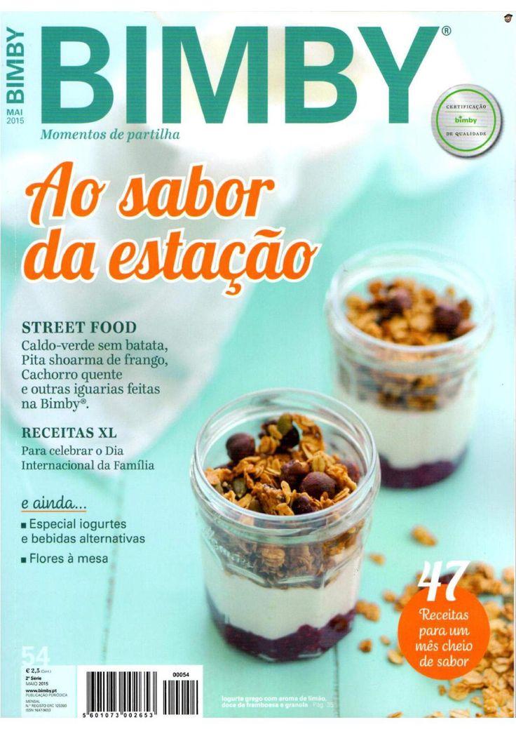 Revista bimby 2015 maio