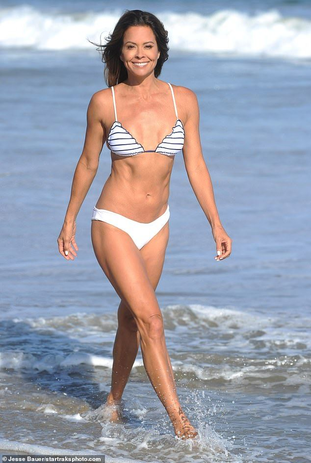 Brooke Burke Shows Off Her Sexy Body at Home in Malibu (18