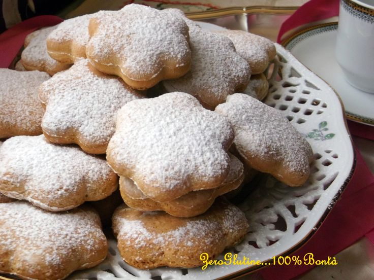 Buon Giovedi amici, oggi vi propongo una ricetta dolcissima dei biscotti soffici…