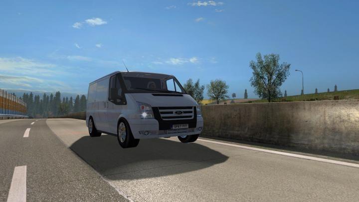 Ets2 Ford Transit Mk7 V1 6 1 34 X Download Ford Transit