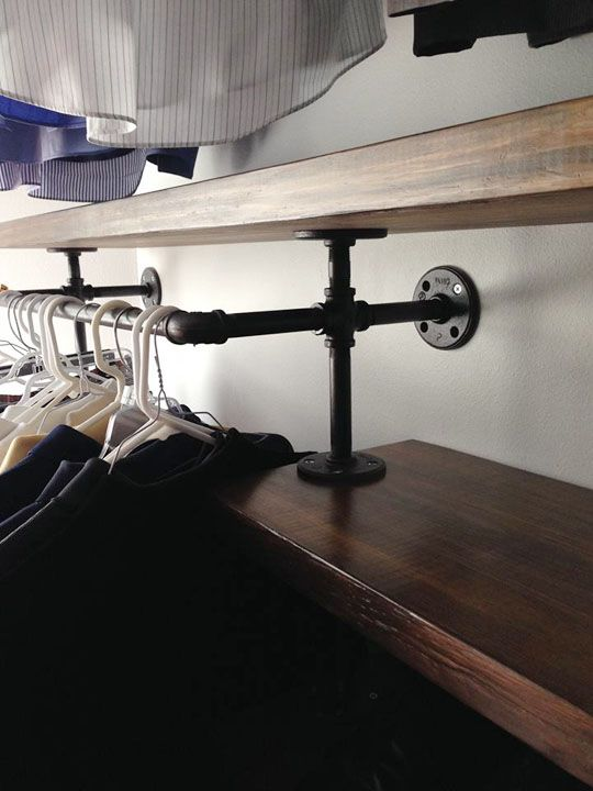 7 best images about walk in closet on pinterest walk in for Best pipes for plumbing
