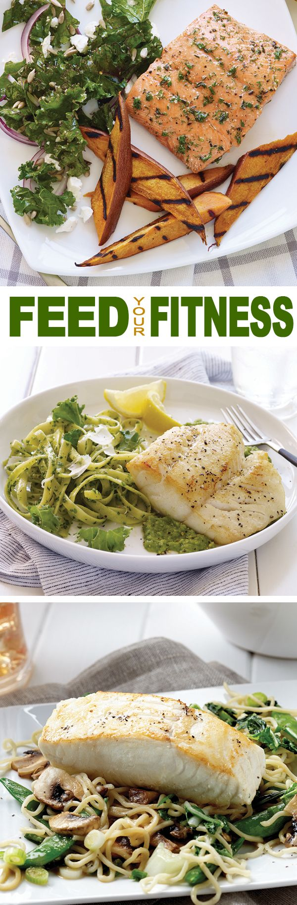 Whether you're a competitive athlete or getting back in shape, you can FEED YOUR FITNESS with Alaska seafood.