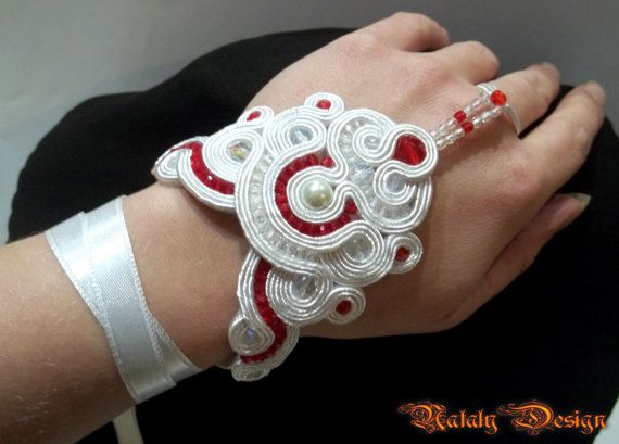 NEW FREE SHIPPING  Soutache Jewelry Necklace by DesignByNataly