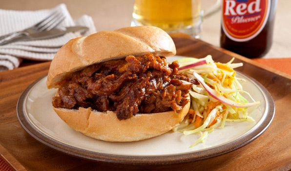 Hearty Pulled Pork Sandwiches
