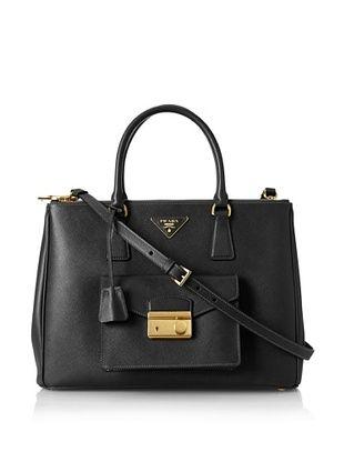 50% OFF PRADA Women's Front Pouch Bag, Black