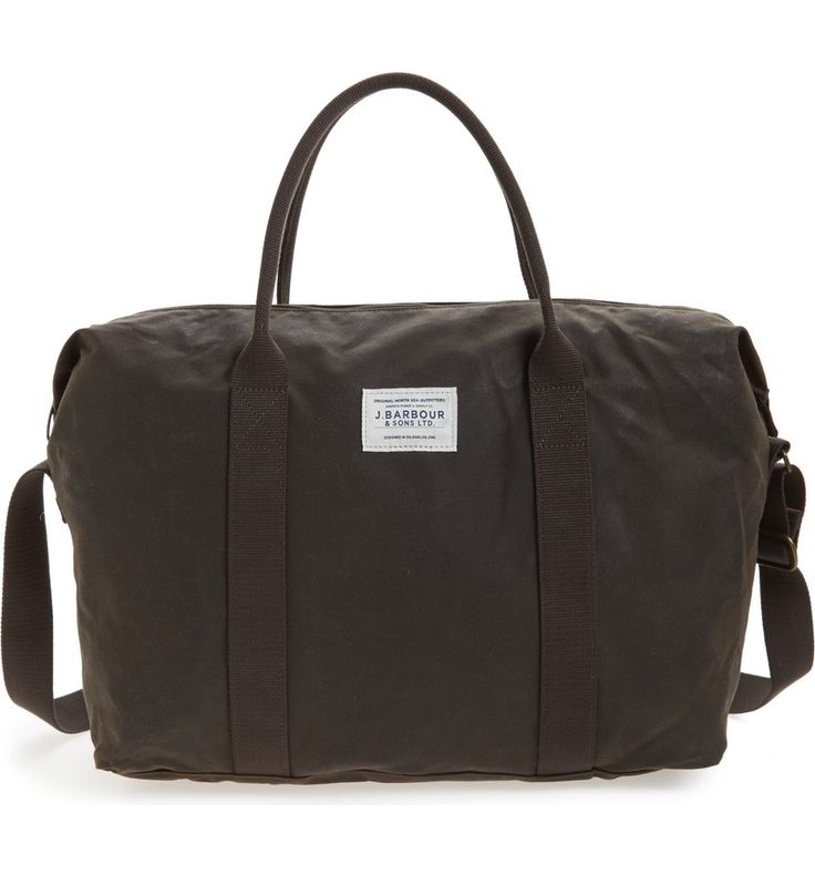 Main Image - Barbour Dromond Canvas Holdall Bag