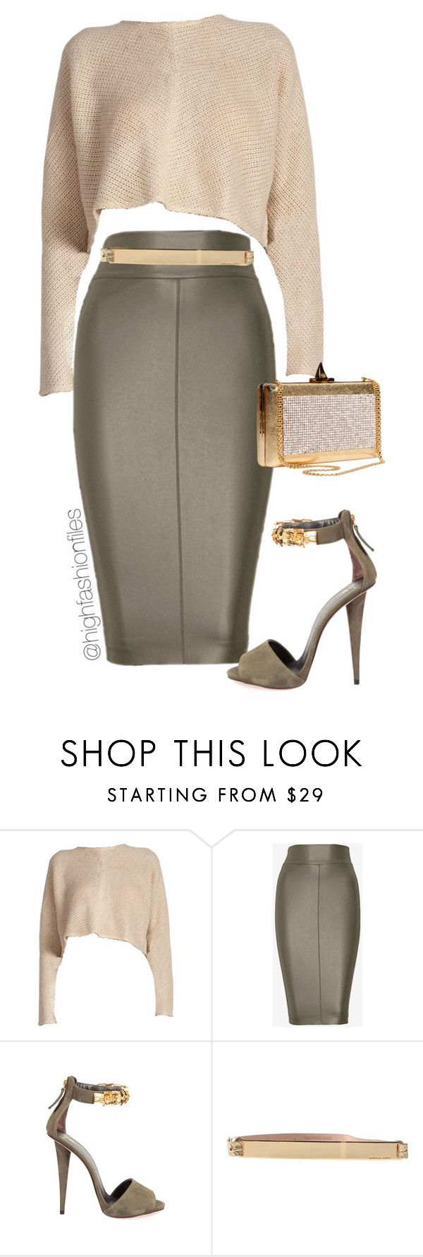 """""""Model Type"""" by highfashionfiles ❤ liked on Polyvore featuring Bailey 44, Elie Saab, Giuseppe Zanotti and MICHAEL Michael Kors"""