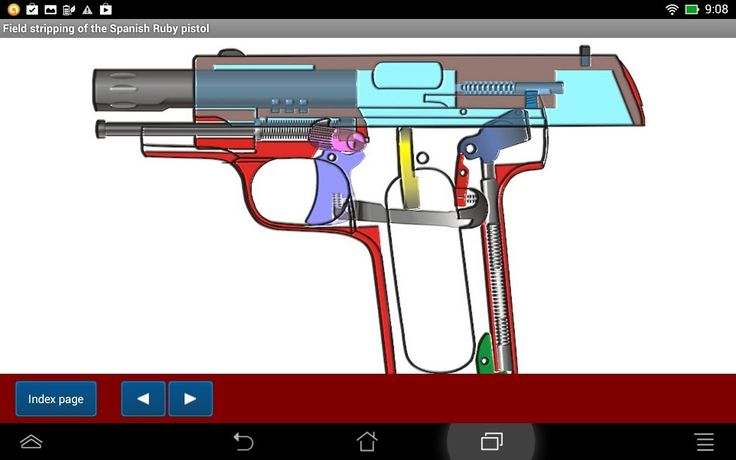Spanish Ruby pistol explained - Android APP - HLebooks.com