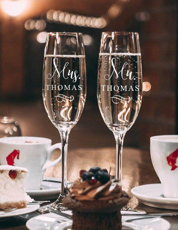 Mr & Mrs Decals, Wine Glass Decals, Wedding Decals, Wedding Stickers, Mr and Mrs Stickers, Mr and Mr